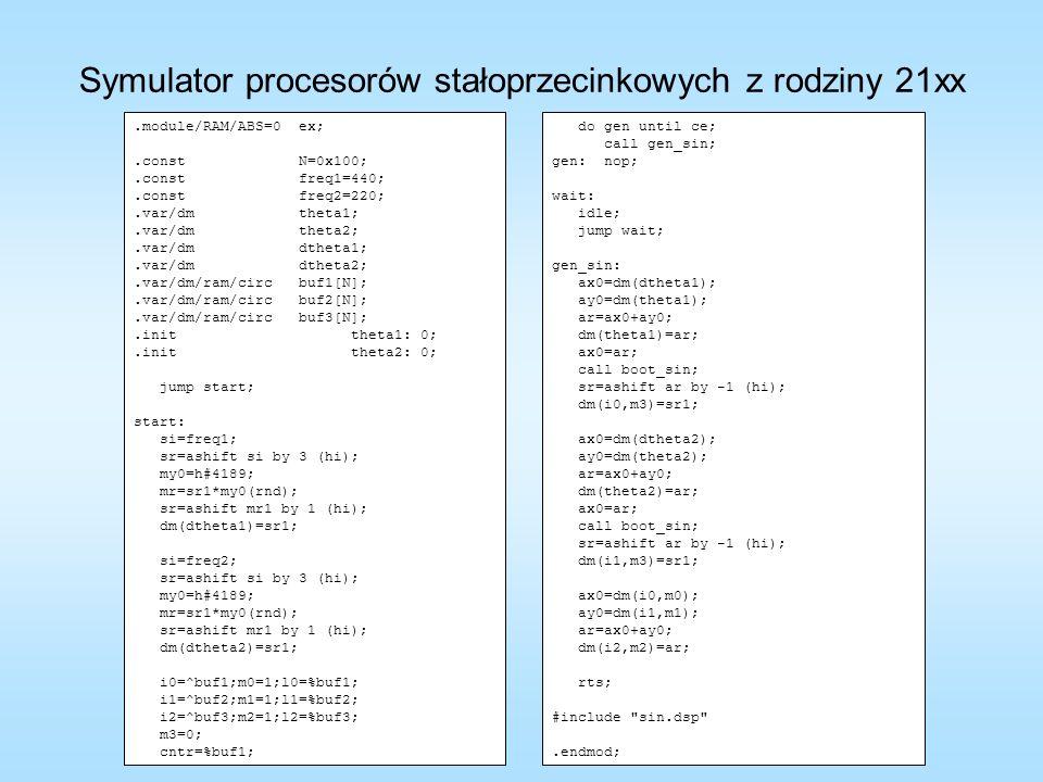 .module/RAM/ABS=0 ex;.const N=0x100;.const freq1=440;.const freq2=220;.var/dm theta1;.var/dm theta2;.var/dm dtheta1;.var/dm dtheta2;.var/dm/ram/circ b