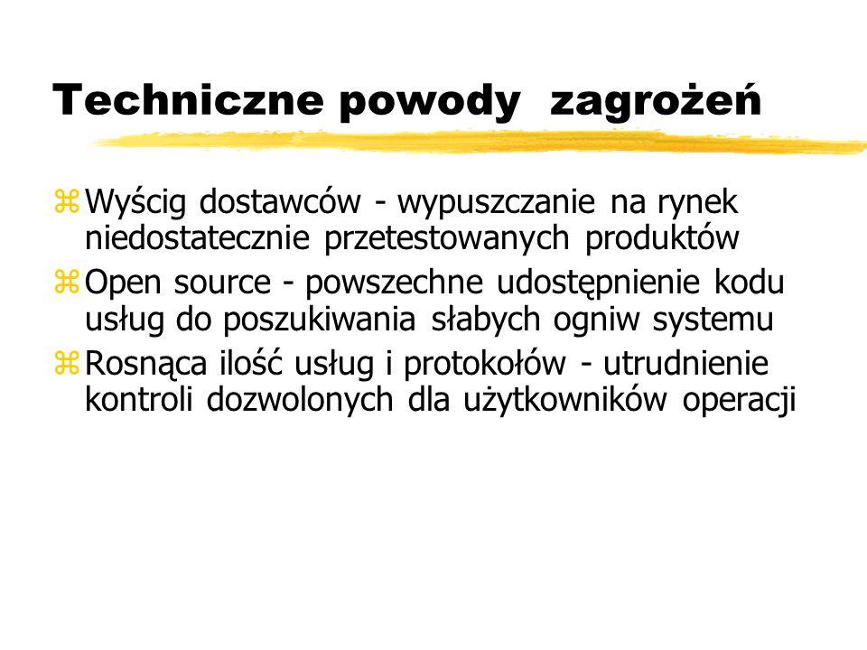 Systemy plików zRodzaje systemów plików: yalokacja ciągła ylista odsyłaczowa (np.