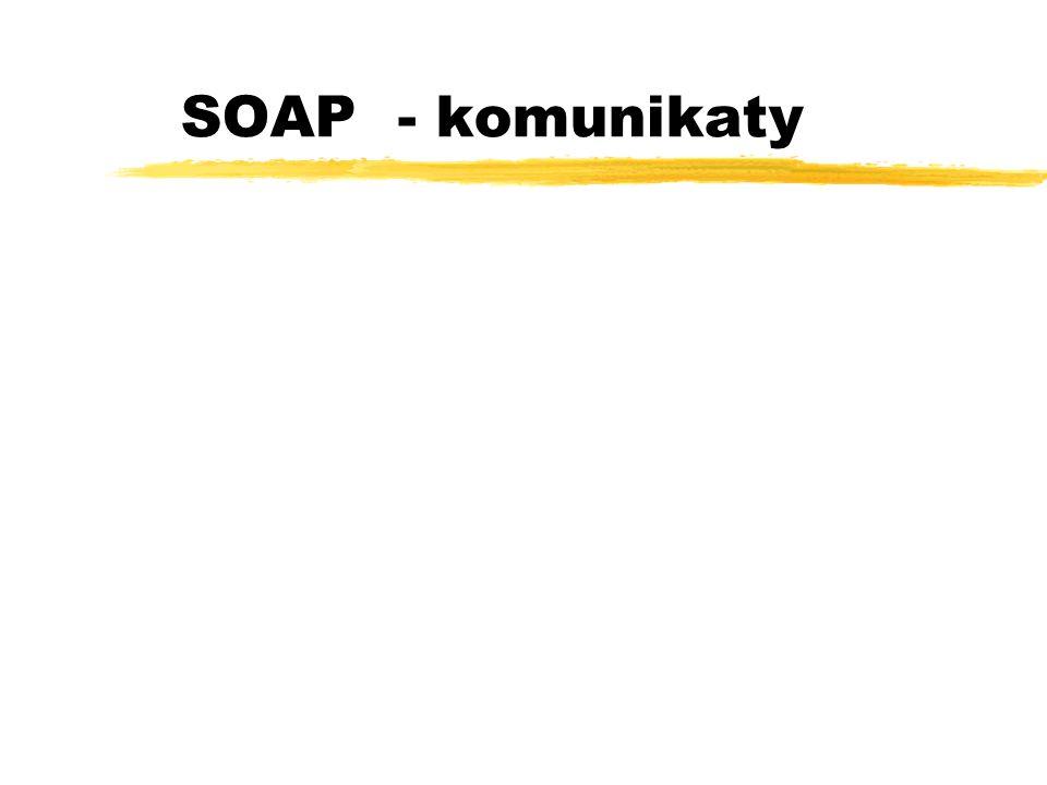 SOAP - komunikaty