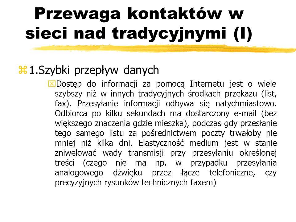 Przewaga kontaktów w sieci nad tradycyjnymi (II) z2.