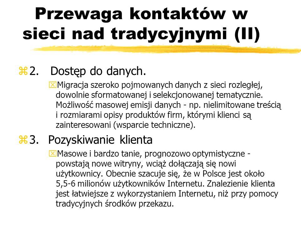 Bank wirtualny (II) zW Polsce: yBanki wirtualne powstają z reguły jako filie banków tradycyjnych yPierwszy: 27 listopada 2000 roku - mBank.