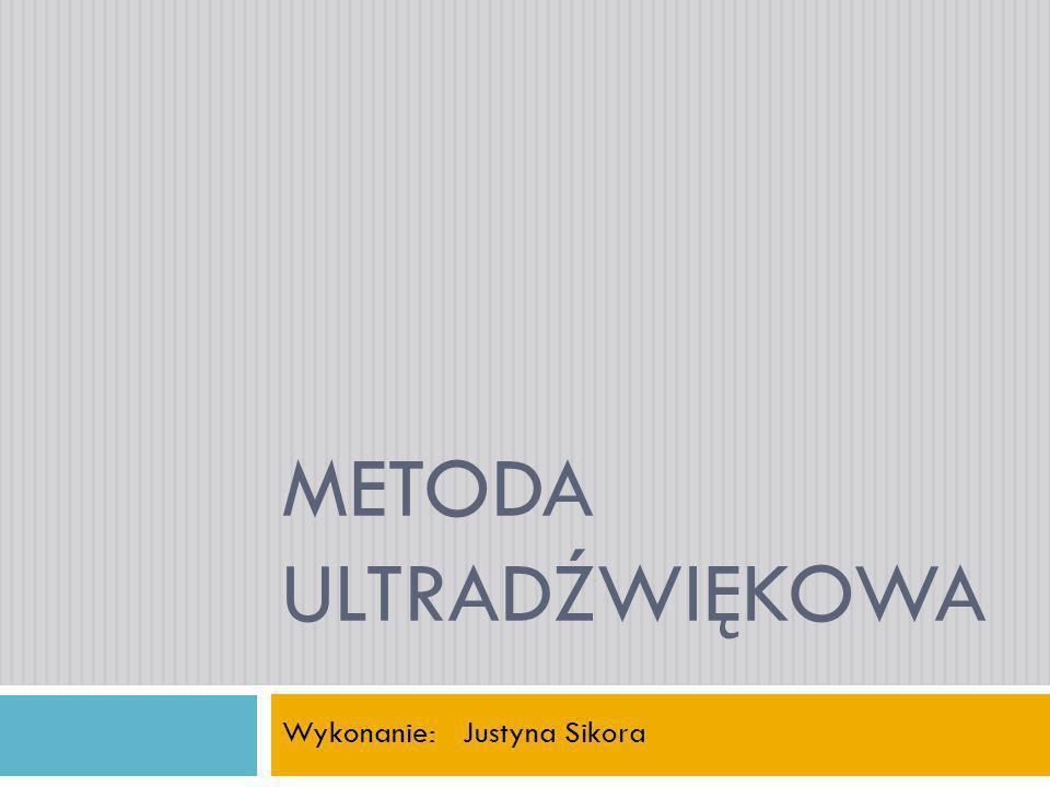 Plan prezentacji Podział fal sprężystych.Podstawy teoretyczne badań ultradźwiękowych.