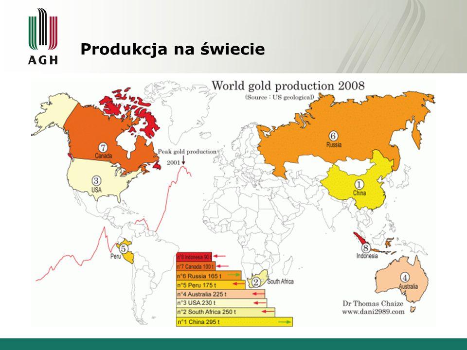 Produkcja na świecie