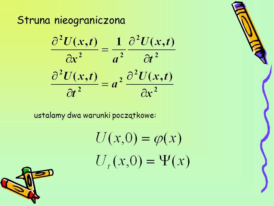 Równanie szczególne szukamy postaci: Podstawiamy do równania: ODNOŚNIK Stąd otrzymujemy: