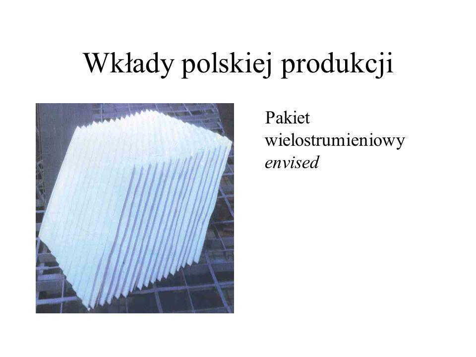 Wkłady polskiej produkcji Pakiet wielostrumieniowy typu wrocław Rys.