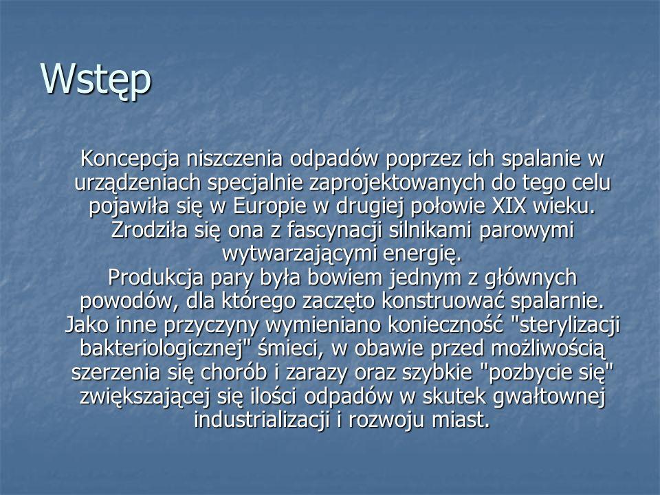W Polsce jest zainstalowanych ok.600 średnich i dużych elektrofiltrów.