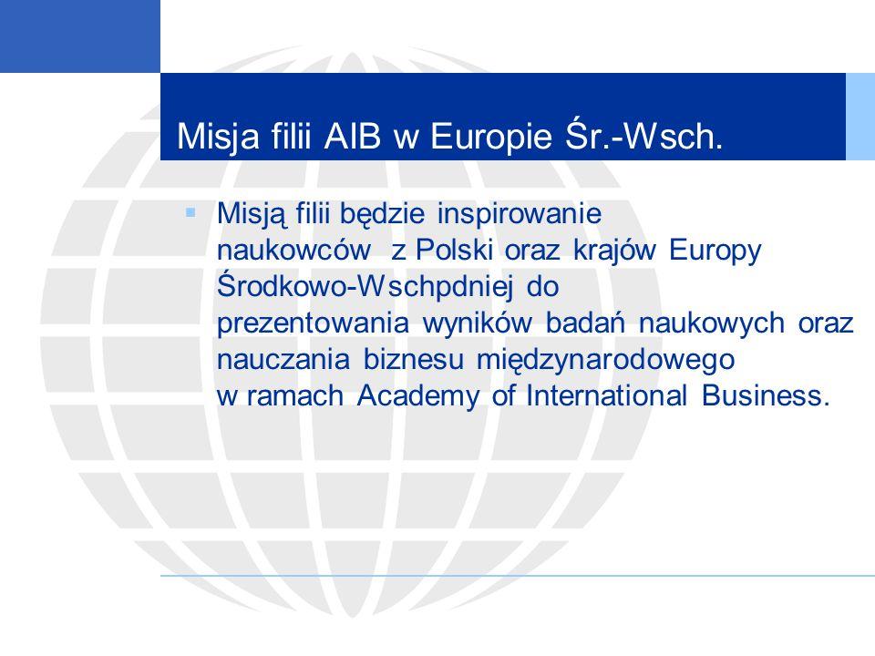 Misja filii AIB w Europie Śr.-Wsch.
