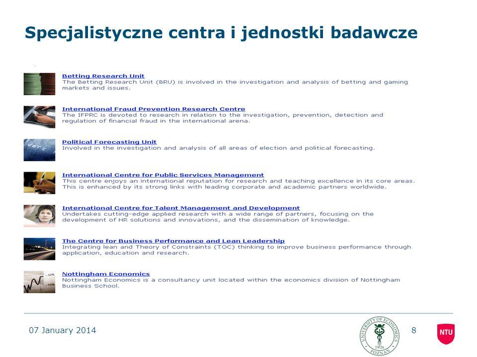 07 January 201419 Warunki uczestnictwa w programie wspólnego dyplomu JMSCIBM -ukończony I rok studiów II stopnia -Bardzo dobra znajomość języka angielskiego potwierdzona na rozmowie kwalifikacyjnej (w pierwszej edycji programu dla studentów wyjeżdżających we wrześniu 2011 r.