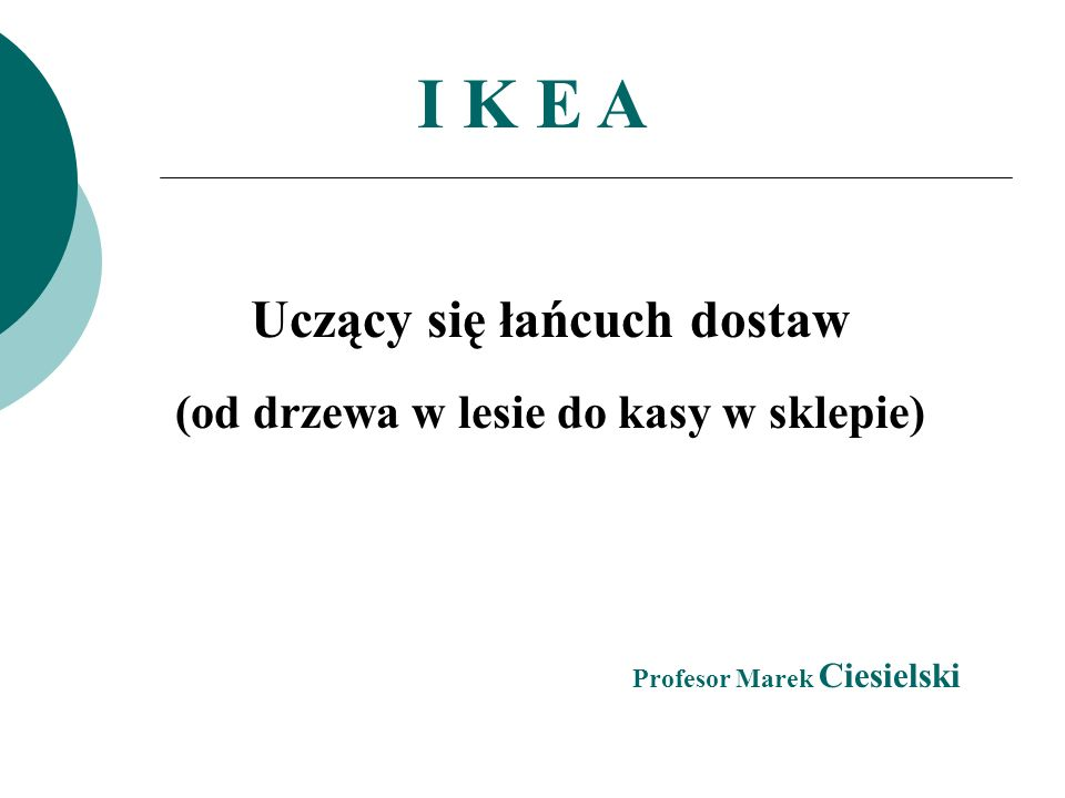 Początki koncernu datuje się na 1943 r., kiedy to została zarejestrowana firma handlowa IKEA, jej właścicielem i założycielem był Ingvar Kamprad.