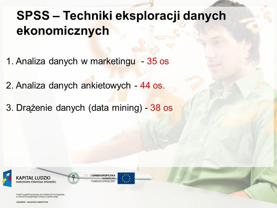 SPSS – Techniki eksploracji danych ekonomicznych 1.