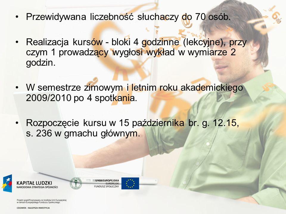 Zadanie 9 Przygotowanie publikacji dydaktycznej na podstawie kursu Nowe trendy w metodologii nauk ekonomicznych i możliwości ich zastosowania w procesie kształcenia studentów Koordynatorzy - prof.