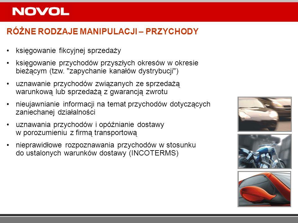 DZIĘKUJĘ ZA UWAGĘ Piotr Hans CIA CFE CMR Audytor Wewnętrzny Grupy Kapitałowej NOVOL Sp.