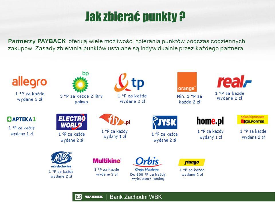 Partnerzy PAYBACK oferują wiele możliwości zbierania punktów podczas codziennych zakupów. Zasady zbierania punktów ustalane są indywidualnie przez każ