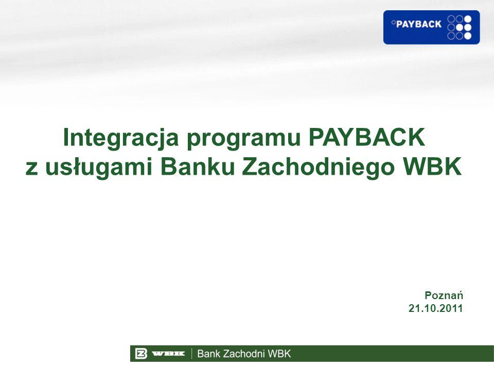 Agenda PAYBACK w liczbach 1 2 Idea Programu PAYBACK 3 4 Partnerzy 5 Kanały komunikacji 6 Karty MasterCard PAYBACK w Banku Zachodnim WBK Str.