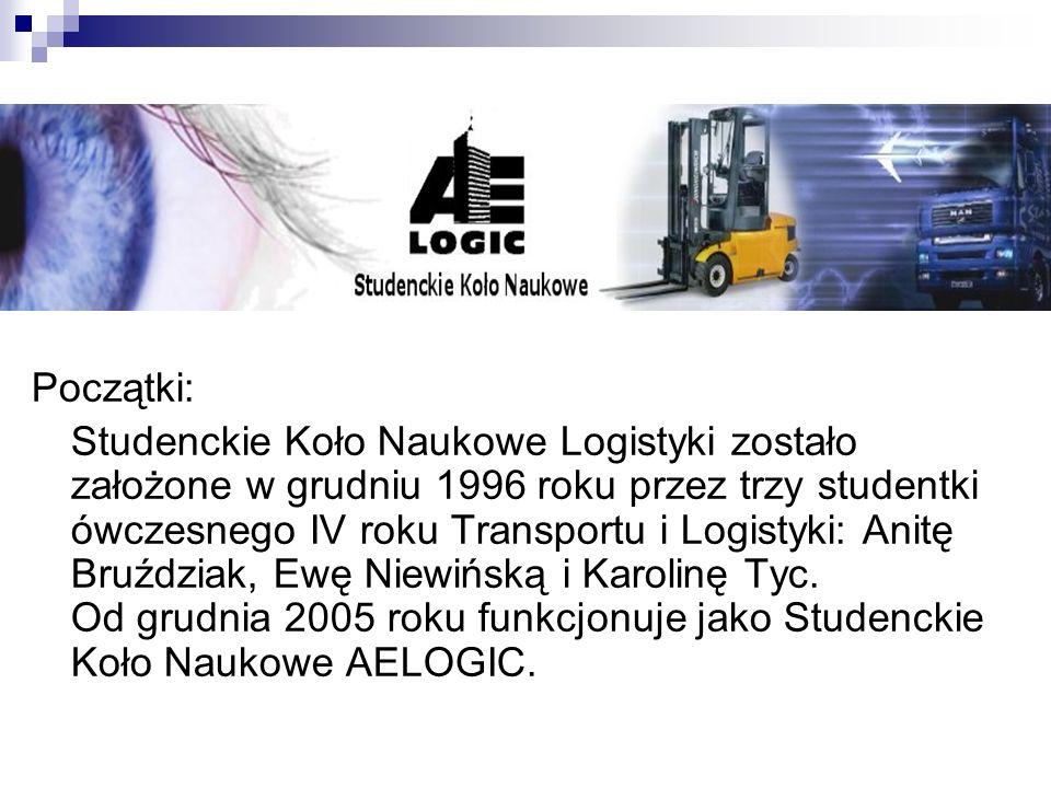 Nasze cele Współpraca z przedsiębiorstwami Współpraca ze studentami logistyki z całej Polski Organizowanie i uczestnictwo w konferencjach naukowych Udział w ogólnopolskich konkursach