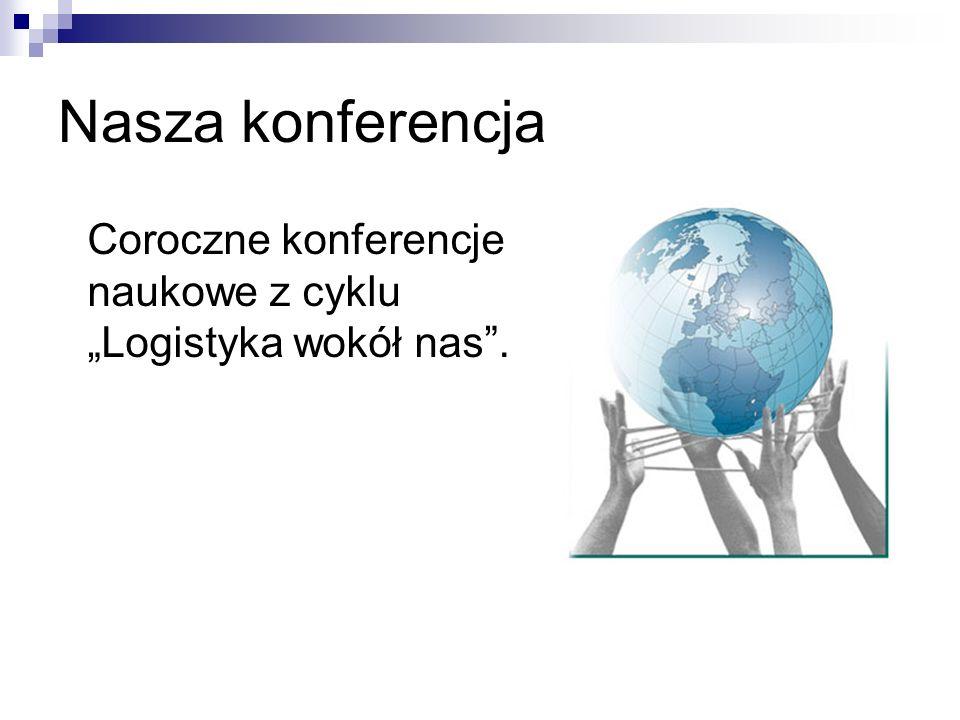 Nasza konferencja Coroczne konferencje naukowe z cyklu Logistyka wokół nas.