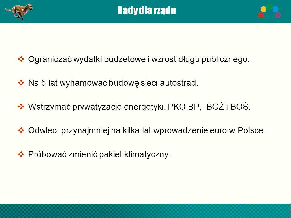 Gepardy Biznesu 2011 Najdynamiczniejsze firmy województwa podkarpackiego według dynamiki przychodów i zysku netto w latach 2008-2010 1.Geyer & Hosaja Sp.