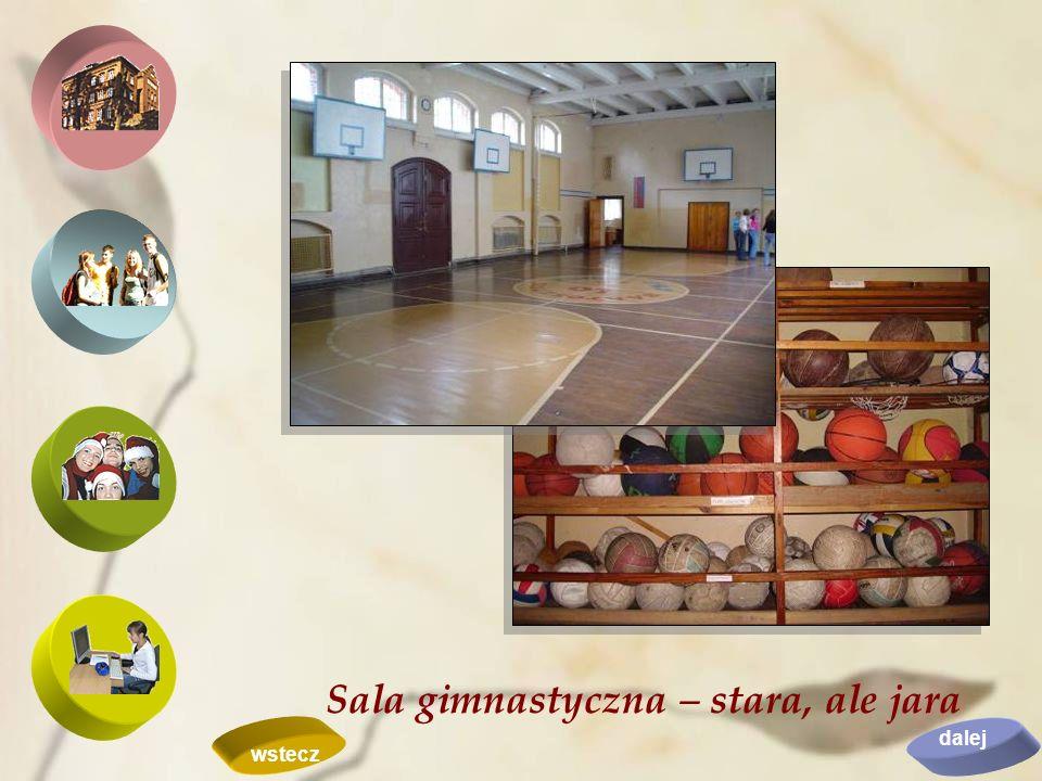 Sala gimnastyczna – stara, ale jara dalej wstecz