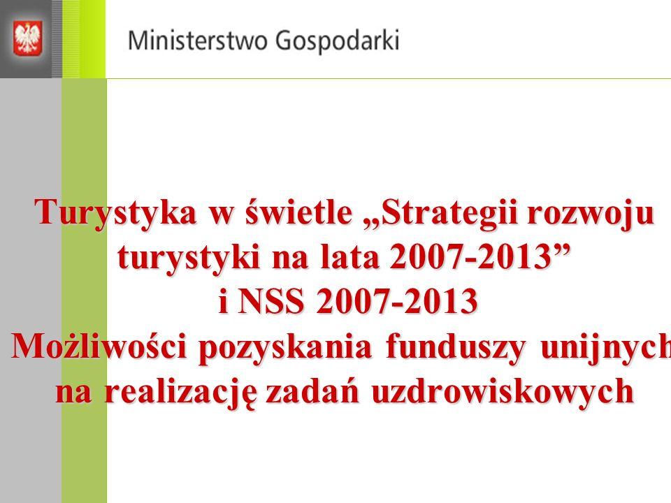 Strategia Rozwoju Kraju 2007-2015 (SRK) Według wizji SRK Polska w 2015 to kraj: o wysokim poziomie i jakości życia mieszkańców silnej i konkurencyjnej gospodarce zdolny do tworzenia nowych miejsc pracy.