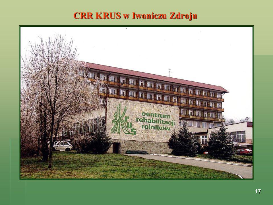 17 CRR KRUS w Iwoniczu Zdroju