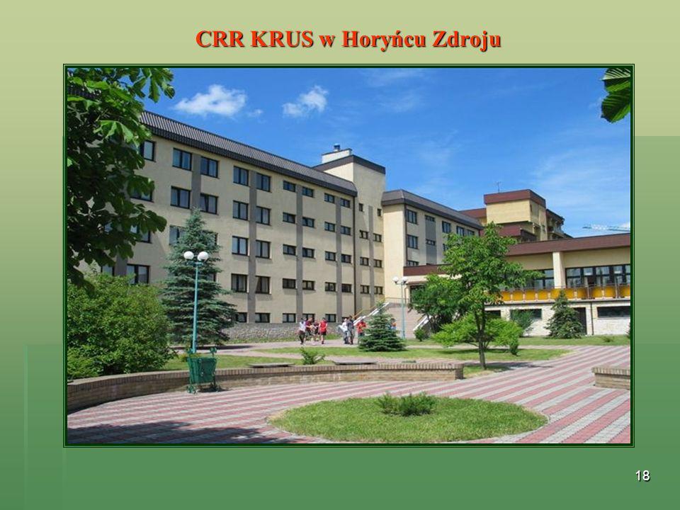 18 CRR KRUS w Horyńcu Zdroju