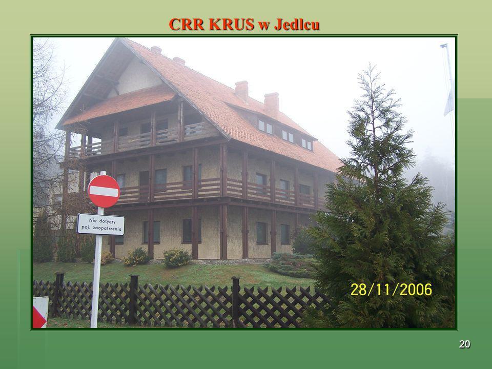 20 CRR KRUS w Jedlcu