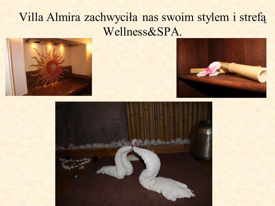 Villa Almira zachwyciła nas swoim stylem i strefą Wellness&SPA.