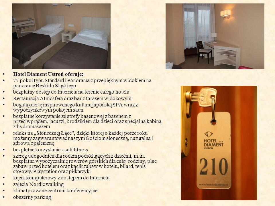 Ostatnim w tym dniu obiektem hotelarskim z jakim mieliśmy do czynienia był Dom Wypoczynkowy w Wiśle.