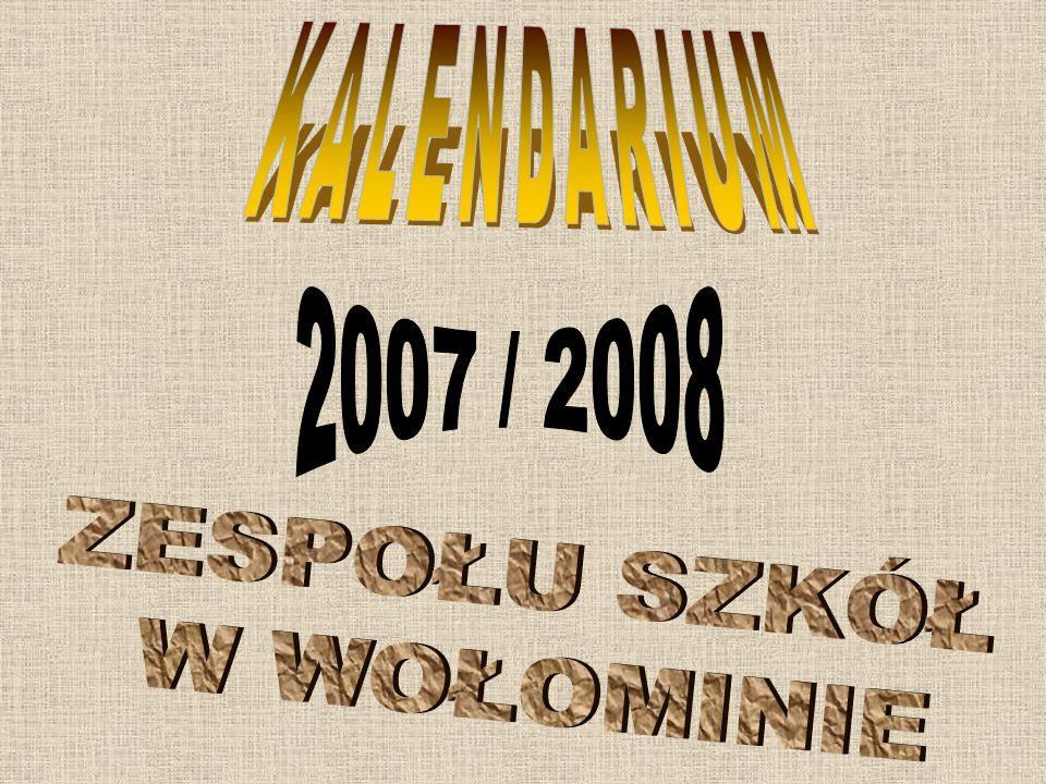 BIEGI PRZEŁAJOWE Reprezentacja Zespołu Szkół w Wołominie wzięła udział 9 kwietnia 2008 roku w corocznych, już XIV Biegach Przełajowych im.