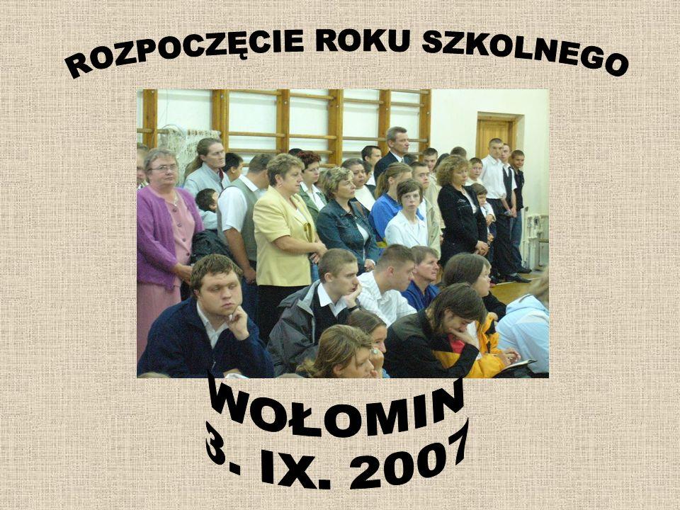 TURNIEJ BOCCIA Zespół Szkół z Wołomina reprezentowały dwie trzyosobowe drużyny.