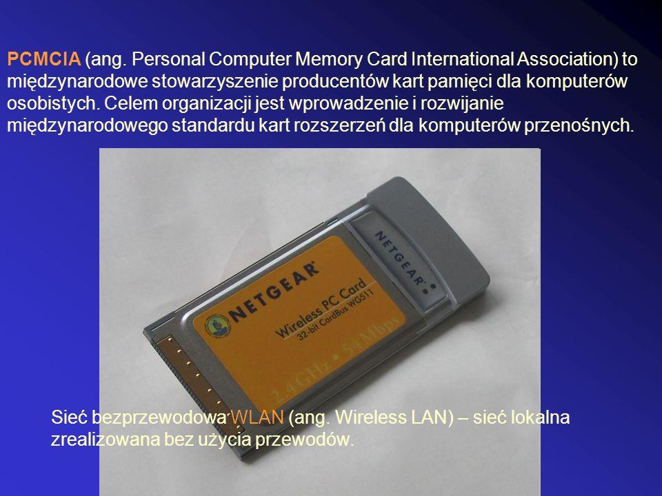 PCMCIA (ang. Personal Computer Memory Card International Association) to międzynarodowe stowarzyszenie producentów kart pamięci dla komputerów osobist