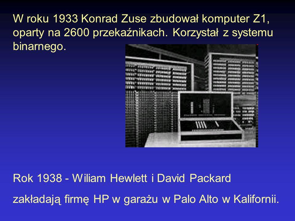 Harvard Mark I 1939 Harvard Mark I, inaczej IBM Automatic Sequence Controlled Calculator (ASCC) - największy w historii kalkulator elektromechaniczny; zbudowany w czasie wojny przez zespół (Claire D.