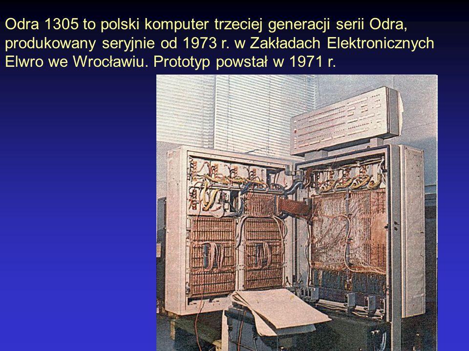1974 Procesory ośmiobitowe Intel 8080, Motorola 6800 6000 tranzystorów 300 000 operacji / s taktowanie 2 MHz