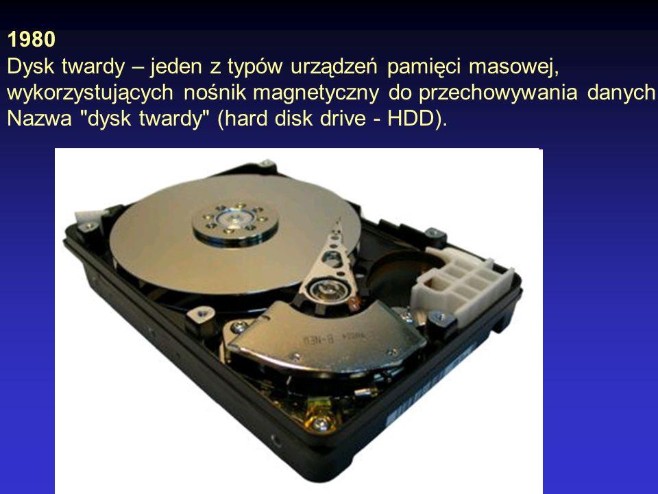 Osborne 1 - komputer opracowany przez Adama Osborne a, pokazany w kwietniu 1981 r., który był pierwszym przenośnym komputerem w historii.