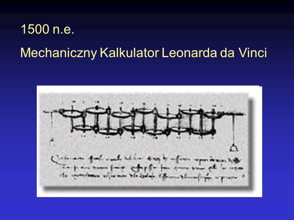 Rok 1614 W roku 1614, szkocki teolog i matematyk, John Napier, odkrył logarytmy, dzięki którym skomplikowane mnożenie można zastąpić prostym dodawaniem.
