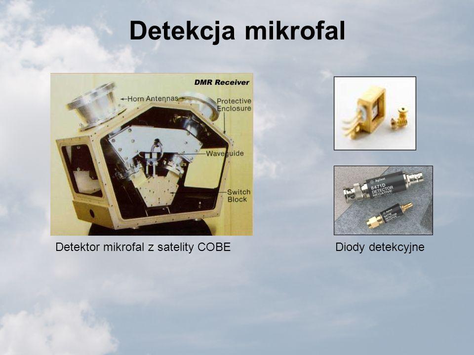 Detekcja mikrofal Detektor mikrofal z satelity COBEDiody detekcyjne