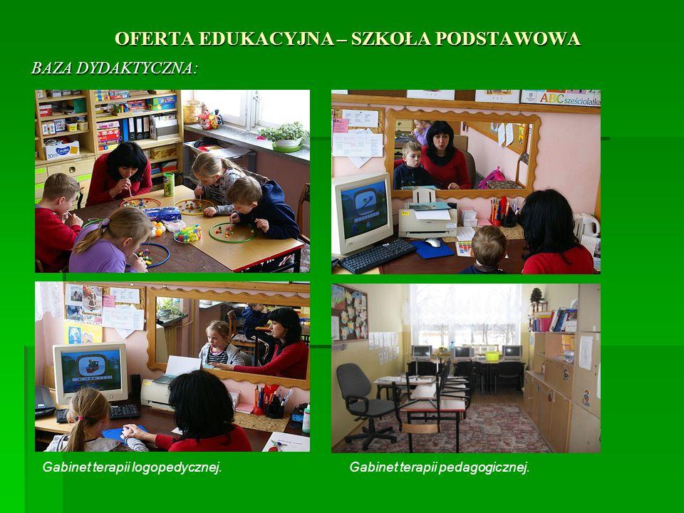 OFERTA EDUKACYJNA - SZKOŁA PODSTAWOWA W ZAKRESIE WYCHOWANIA I OPIEKI OFERUJEMY : Realizację programów profilaktycznych, Realizację programów profilaktycznych, W KLASACH 1 – 3 SP 1.Szklanka mleka 2.Owoce w szkole 3.Przyjaciele Zippiego – Międzynarodowy program rozwoju emocjonalnego dzieci młodszych, 4.Cała Polska czyta dzieciom- edukacja czytelnicza,
