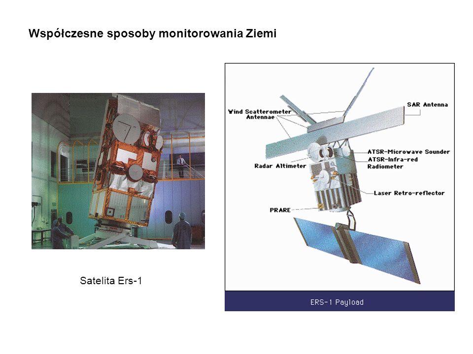 Współczesne sposoby monitorowania Ziemi Satelita Ers-1