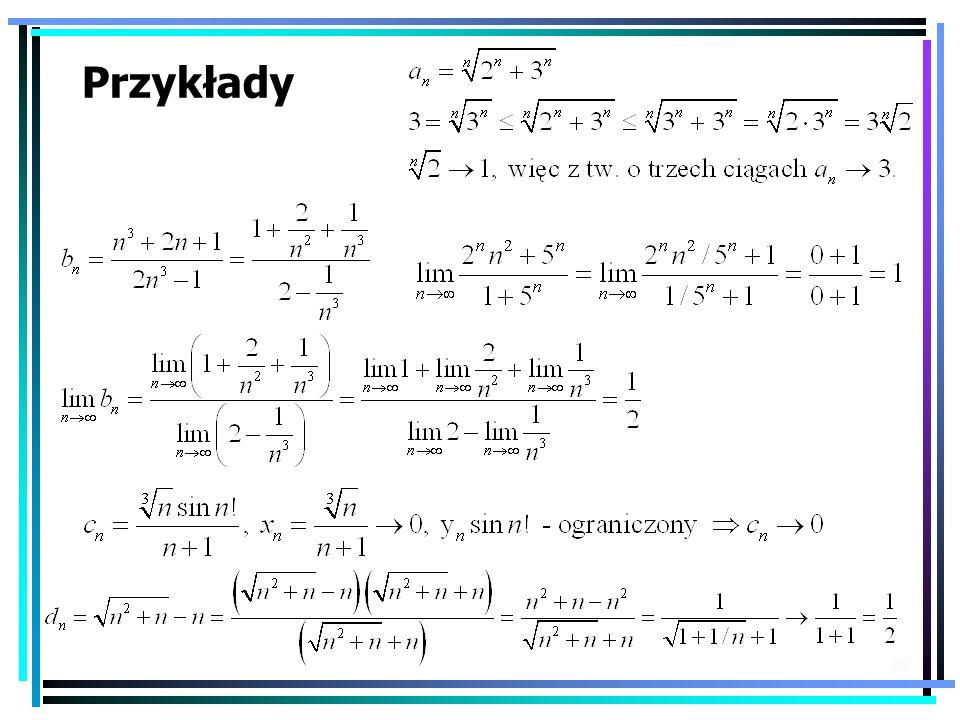 22 Przykłady