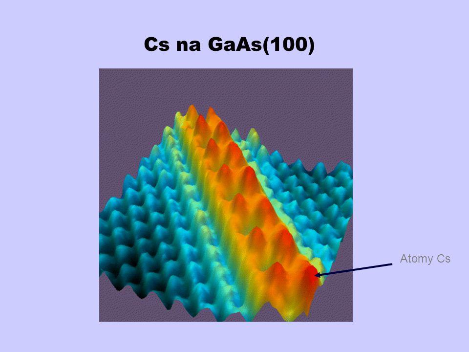 Cs na GaAs(100) Atomy Cs