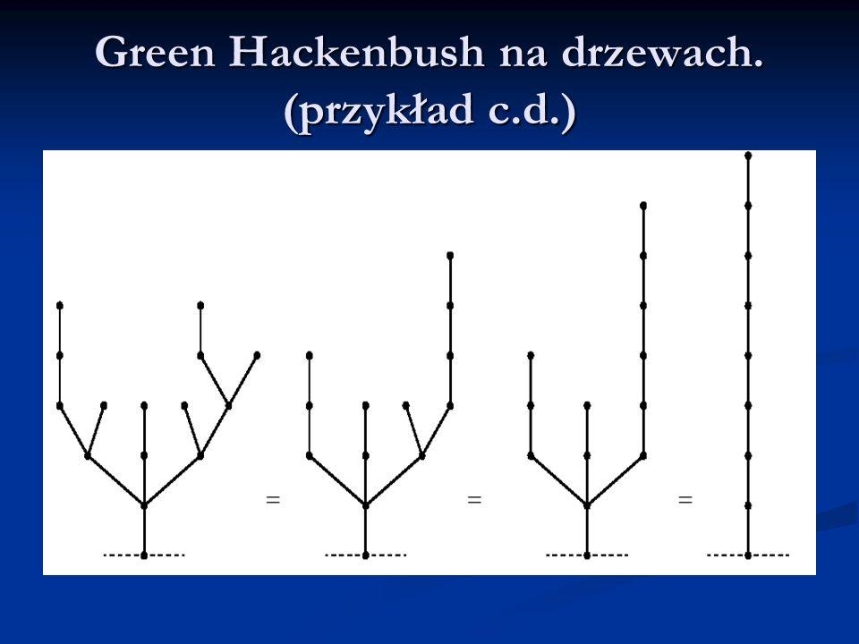 Po przekształceniu wszystkich drzew w łodygi obliczamy wartość Sprague-Grundy.