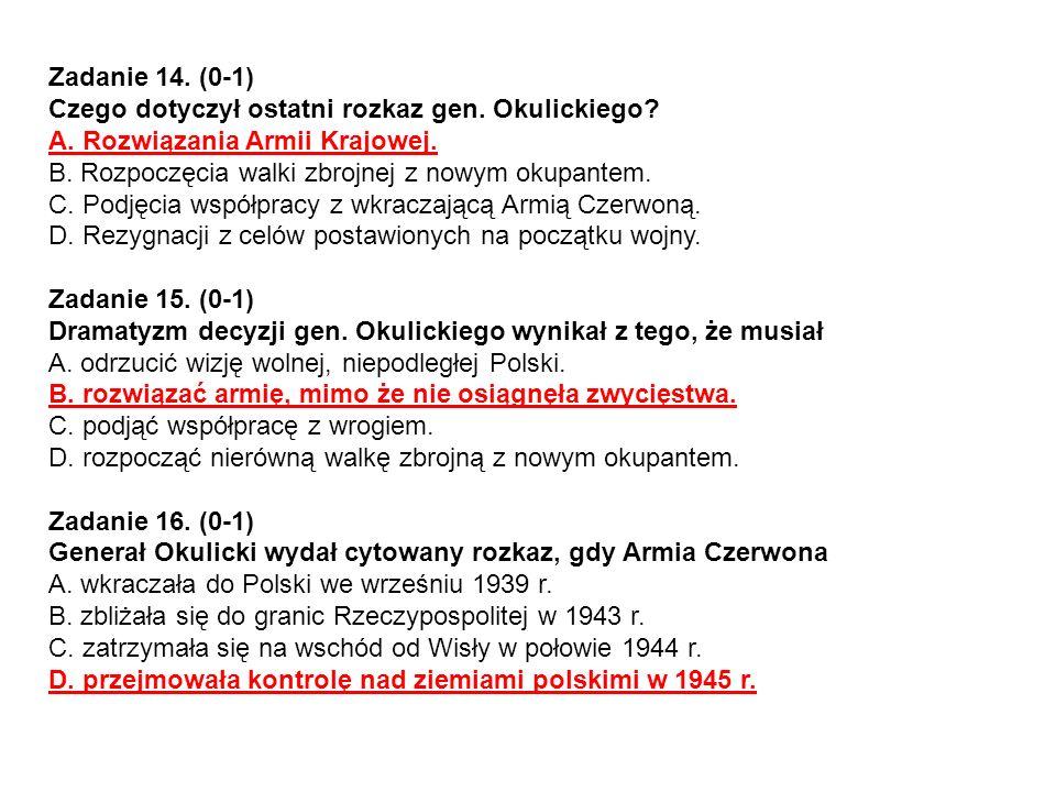 Rozwinięcie tematu a) 1 p.