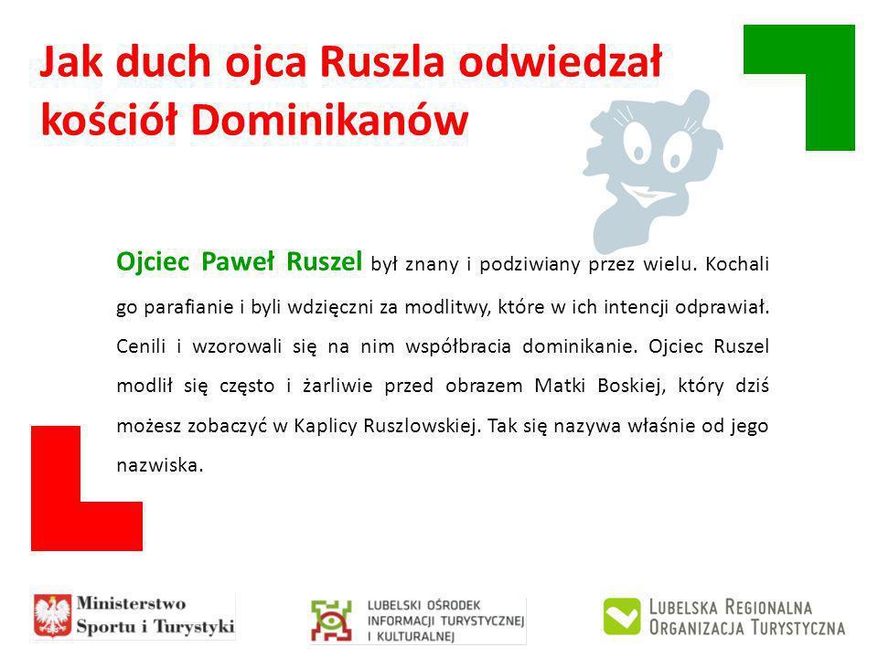 Ojciec Paweł Ruszel był znany i podziwiany przez wielu.