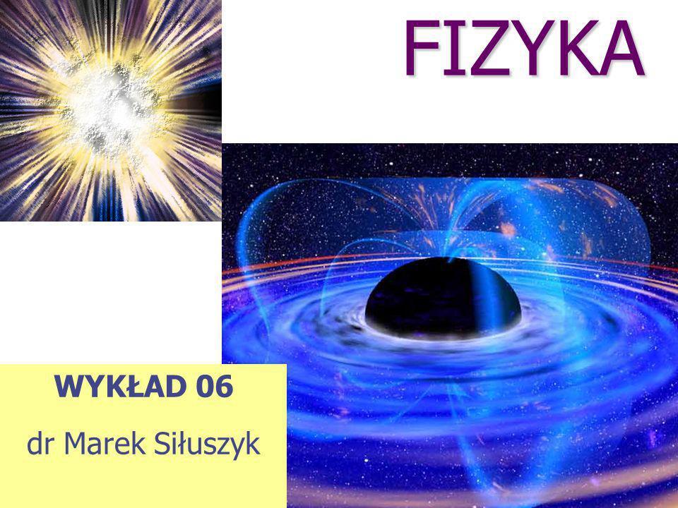 FIZYKA WYKŁAD 06 dr Marek Siłuszyk