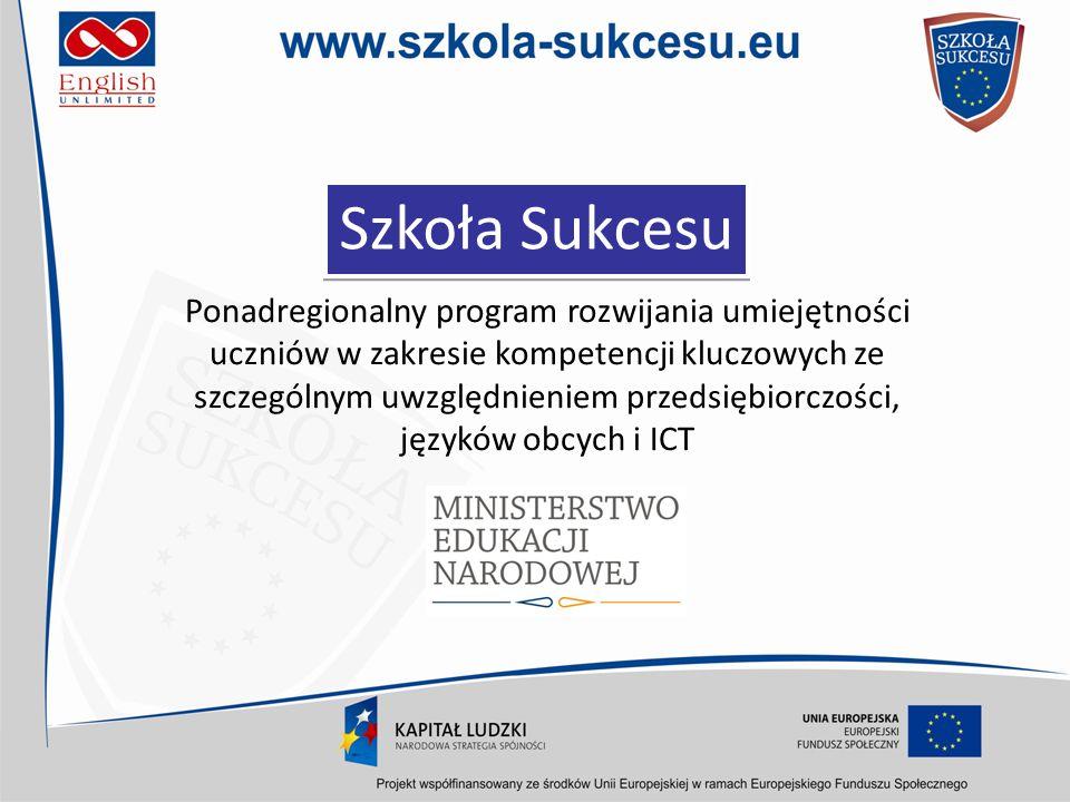 Zasięg terytorialny programu Projekt adresowany jest do uczniów klas I z liceum oraz klas II technikum z czterech województw: kujawsko-pomorskiego, pomorskiego, wielkopolskiego i zachodniopomorskiego.