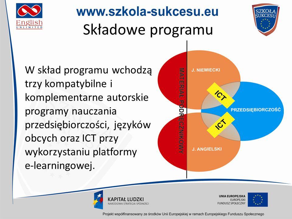 O projekcie Fragmenty recenzji naukowej Uniwersytetu Gdańskiego programu Szkoła Sukcesu (…) Bardzo ważną cechą i zaletą omawianego programu jest kompatybilność i komplementarność programów nauczania języka obcego oraz przedsiębiorczości.