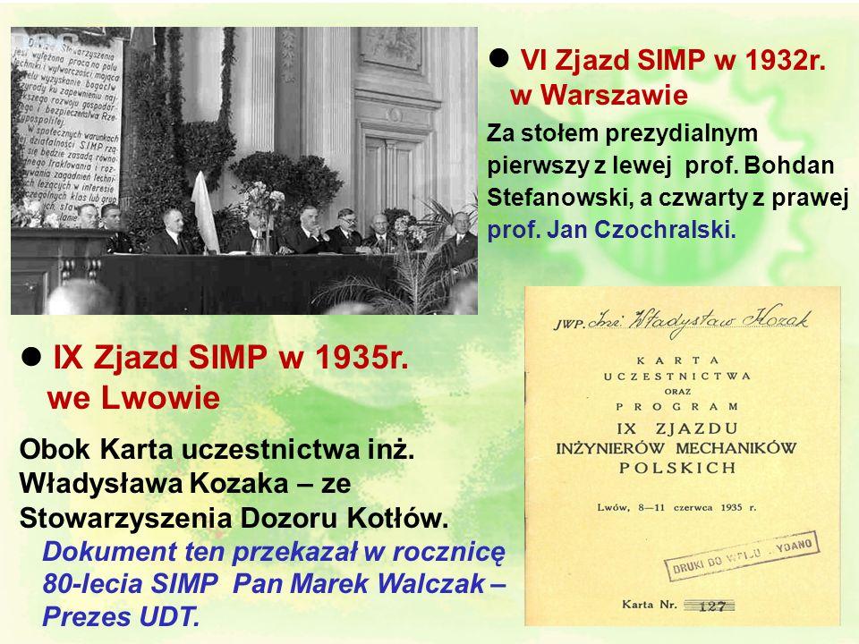 l 28 czerwcu 1929r. w wieku 48 lat umiera nagle na bolesną dusznicę serca (zawał) – dokładnie w trzecią rocznicę powstania SIMP - prof. Henryk Mierzej