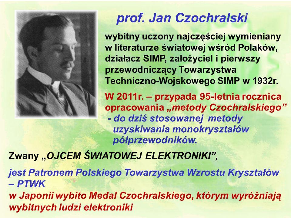 l VI Zjazd SIMP w 1932r. w Warszawie Za stołem prezydialnym pierwszy z lewej prof. Bohdan Stefanowski, a czwarty z prawej prof. Jan Czochralski. l IX