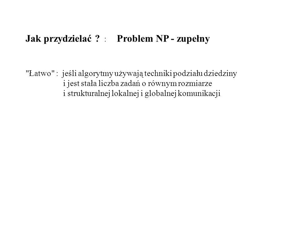 Jak przydzielać ? : Problem NP - zupełny