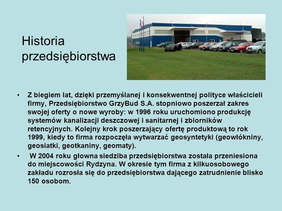 Klienci Strategia działania firmy GrzyBud S.A.